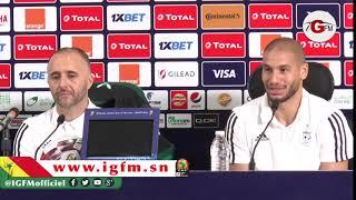 """Adlène Guedioura, milieu Algérie : """"nous avons à cœur de gagner cette finale"""""""