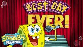 This classic SpongeBob moment is sure to make your day THE BEST DAY EVER! If SpongeBob's joyful song isn't enough to make you smile, keep watching for ...