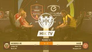 eSuperliga highlights: Hobro IK 5 - 6 AaB (11-12-18)