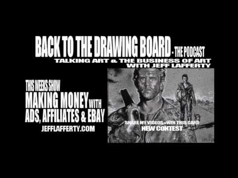 The Back To The Drawing Board Podcast - Making Money With Ads, Affiliates & EBay