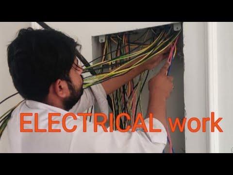 Electrical work in #Dubai