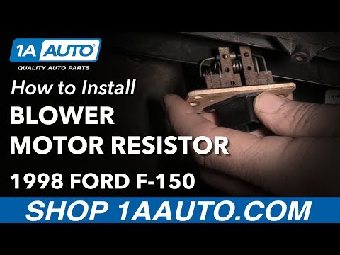 how-to-replace-blower-motor-resistor-97-03-ford-f-150