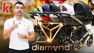 JUNAMA DIAMOND - видео обзор детской коляски 2 в 1 от karapuzov.com.ua (Юнама Даймонд)