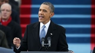 Obama's Inauguration Speech: If Only He Lives Up to His Rhetoric...