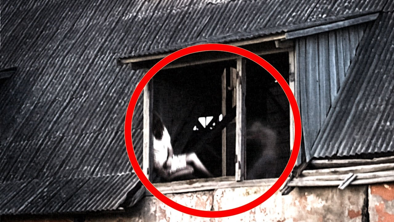 Scary Video That Cause Anxiety!! Scary Ghost Caught From an Abandoned Factory
