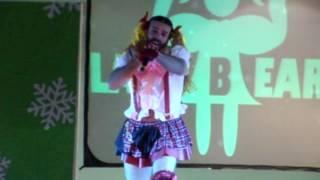 Presentación de Lady Beard en Expo TNT 3era Edición de Navidad.