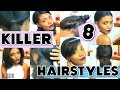 HAIR | 8 KILLER Heatless Hairstyles For School !