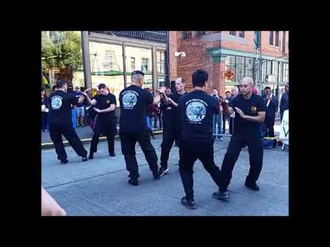 Jun Fan Gung Fu Institute of Seattle Demo at the Wing Luke Museum