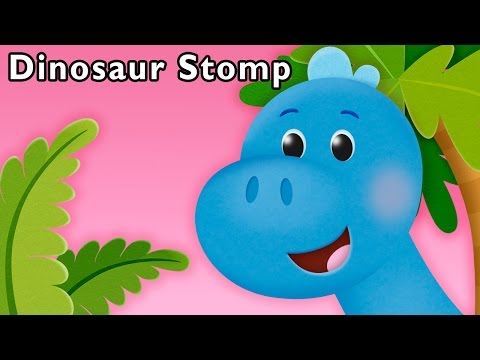 S Is for Stomp | Dinosaur Stomp and More | Baby Songs from Mother Goose Club!