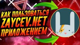 КАК ПОЛЬЗОВАТЬСЯ ПРИЛОЖЕНИЕМ ZAYCEV.NET / ТУТОРИАЛ screenshot 3