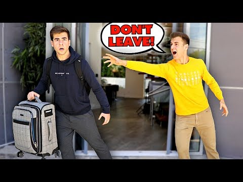 I'M MOVING OUT Prank On My BROTHER..