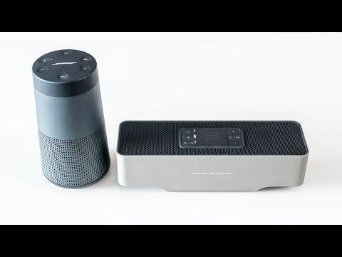 Bose Soundlink Revolve vs KEF Gravity One - soundcheck