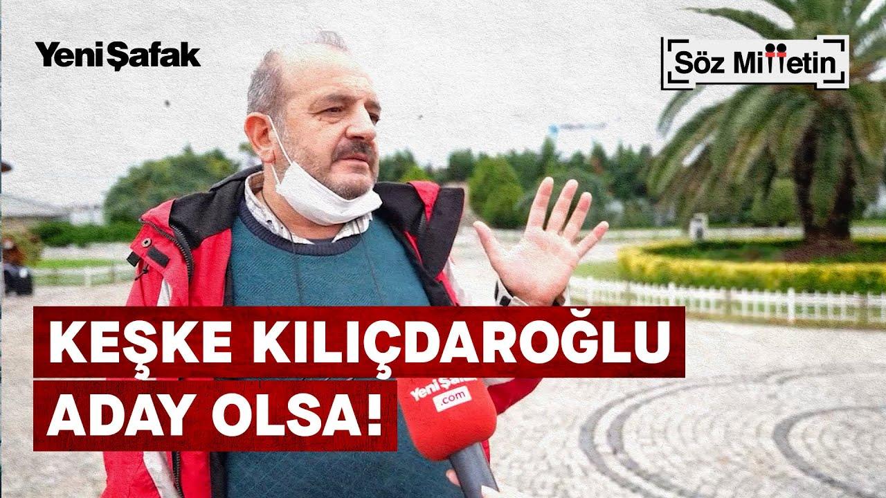 """Söz Milletin: AK Partili vatandaştan """"Cumhurbaşkanı tercihiniz kim?"""" sorusuna cevap"""