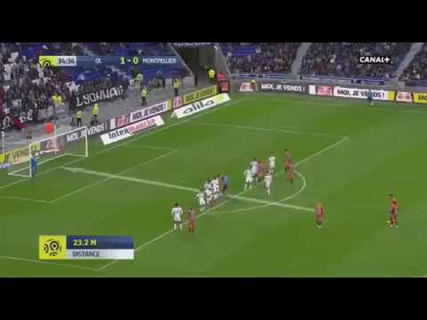 But Mollet OL 1-1 Montpellier | Ligue 1 Conforama