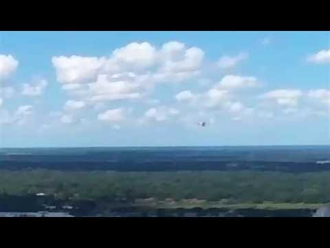 Airplaine In Distance Flying At Eye Level | BEBOP DRONE FOOTAGE FPV VIDEO | #bebopdronefootage