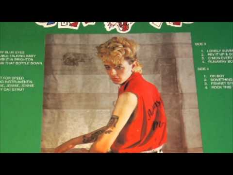 Stray Cats -- King Biscuit's Show 84-FULL ALBUM VINYL