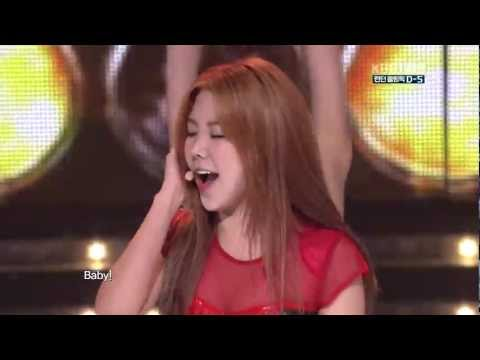 After School - Flashback Live KBS The Olympic Games in London Fighting Korea 120722