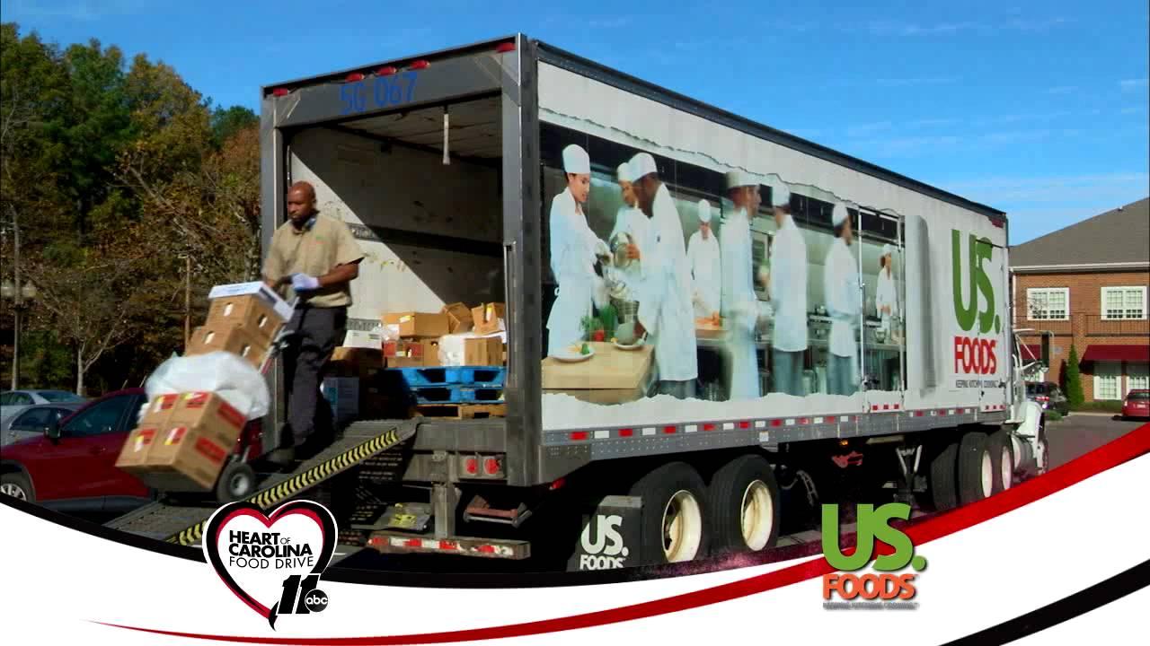 U S  Foods Promotional Spot 2015 Heart of Carolina Food Drive