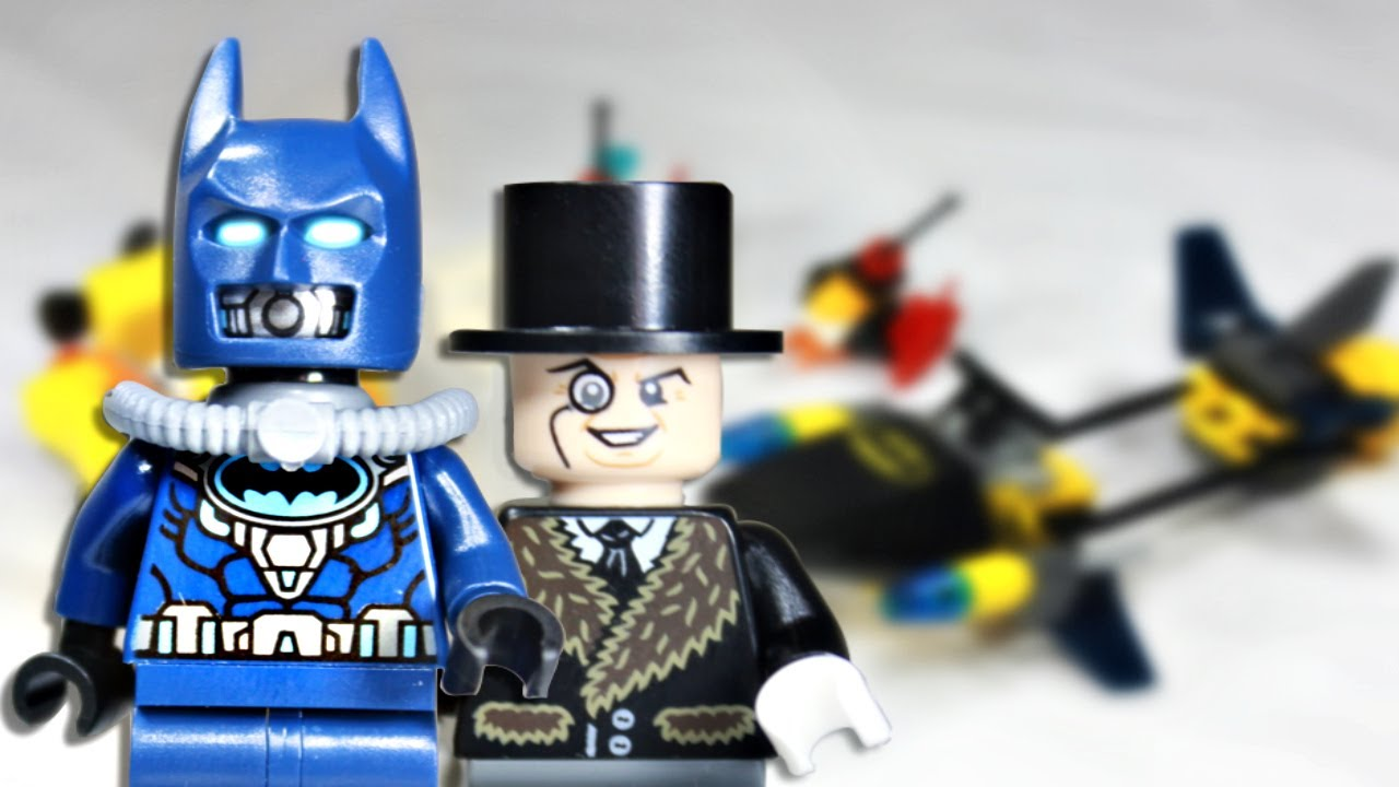 LEGO 2014 DC Super Heroes 76010 Batman: The Penguin Face ...