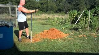 hand dug shallow well homestead prepper farming