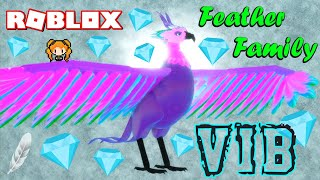 ROBLOX FEATHER FAMILY VIB!! Is it WORTH IT? CRYSTALS IN THE DESERT, RAPUNZEL TOWER (VIP) PHOENIX