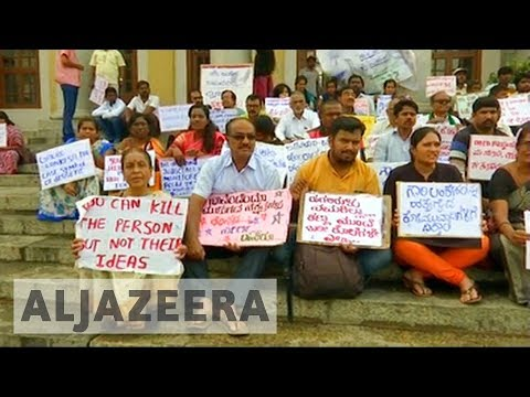 Outrage after Indian journalist's murder