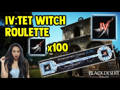 100 Witch Earrings To TET - Enhancing Accessories For Profit - Black Desert Online [BDO] Gameplay