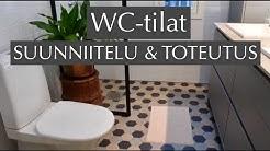WC-tilat: suunnittelu ja toteutus