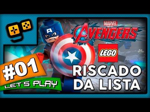 Let's Play: Lego Vingadores - Parte 1 - Riscado da Lista