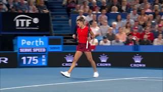 Belinda Bencic v Maria Sakkari highlights (RR) | Mastercard Hopman Cup 2019