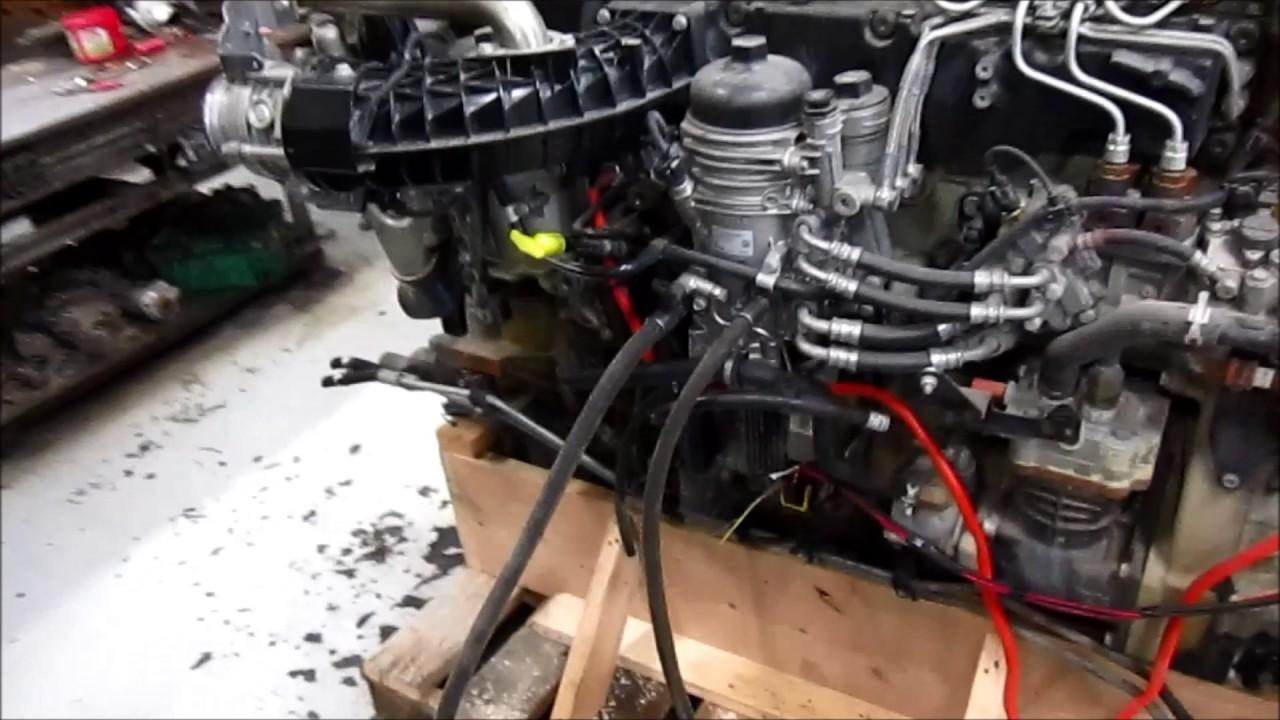 2013 Detroit Diesel Dd15 Engine Youtube