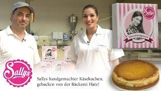 Woran erkennt man gutes Brot / guten Kuchen ? Sallys Käsekuchen in der Bäckerei HATZ Karlsruhe