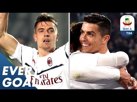 Piatek Scores 2 but Ronaldo Still Leads as Top-Scorer! | EVERY Goal R24 | Serie A