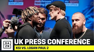 KSI vs. Logan Paul 2: UK Press Conference Livestream