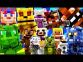 FNAF World - FULL MOVIE! (Minecraft Roleplay) Night 1-10
