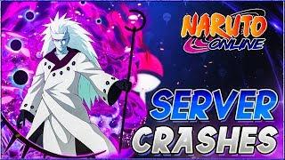 Naruto Online Madara Crashes The Server
