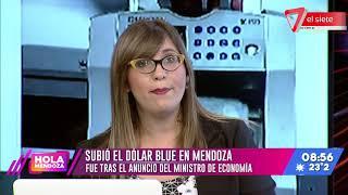 Subió el dólar blue en Mendoza