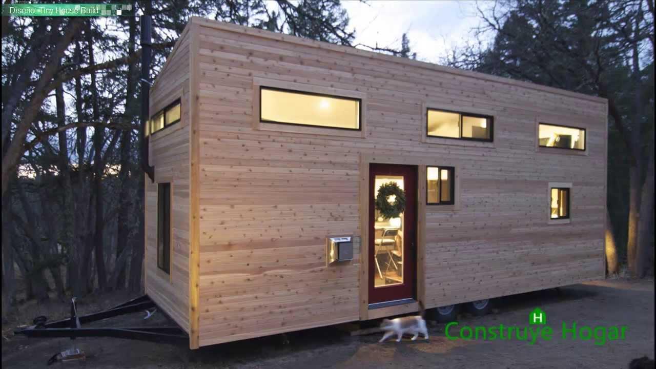 Diseño de casa muy pequeña optimizando espacios - YouTube