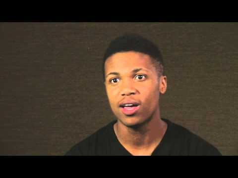 Kye Allums 2 - How got involved in Jeff Sheng's Fearless project ...