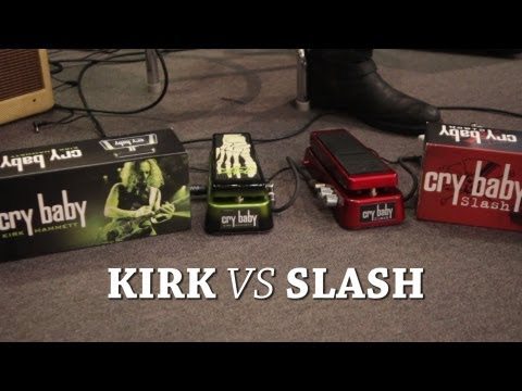 Kirk Hammett vs Slash Wah Showdown