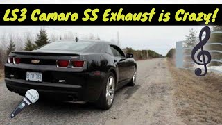 2010 Camaro SS Exhaust HD (Best clip on the web)