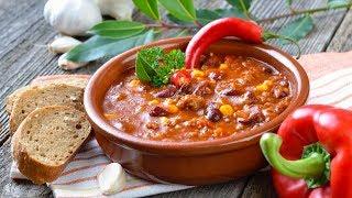 Чили Кон Карне.  Мексиканское рагу. Блюдо Выходного Дня