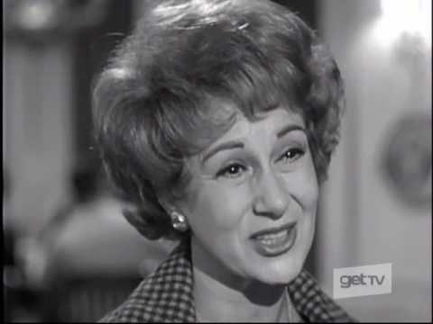 Arlene Francis, Gertrude Berg, Mary Wickes--The Mother Affair, 1962 TV