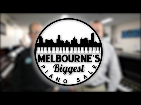 Melbourne's Biggest Piano Sale with Pats Music and Keyboard Corner