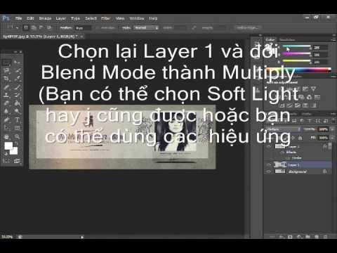 Cách tạo khung trong suốt bằng photoshop Cs6