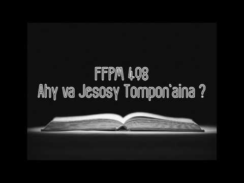 FFPM 498 - Ahy va Jesosy Tompon'aina