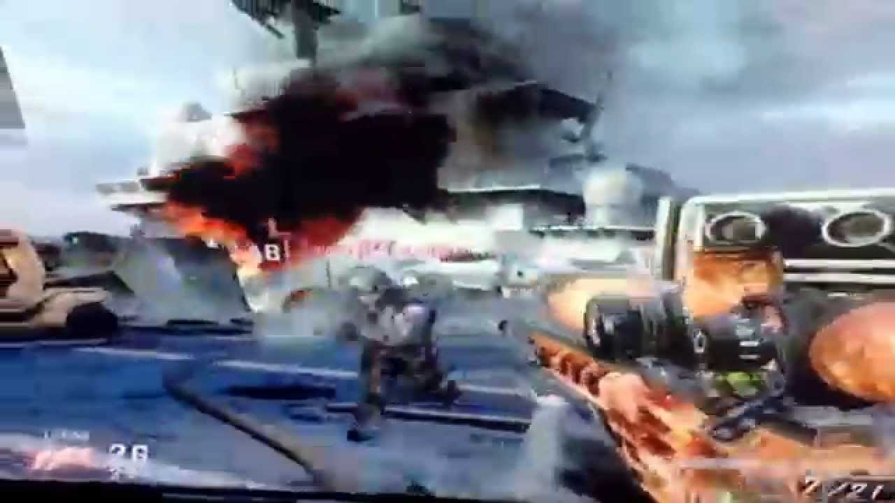 Black ops 2 leaning