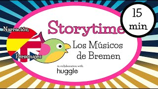 Bilingual Storytime for children - Los músicos de Bremen (The Bremen town musicians)