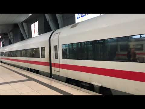 Fast Trains in Germany | Intercity Express from Leipzig to Frankfurt | Stadt-City Channel