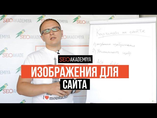 Изображения для SEO. Павел Шульга (Академия SEO)